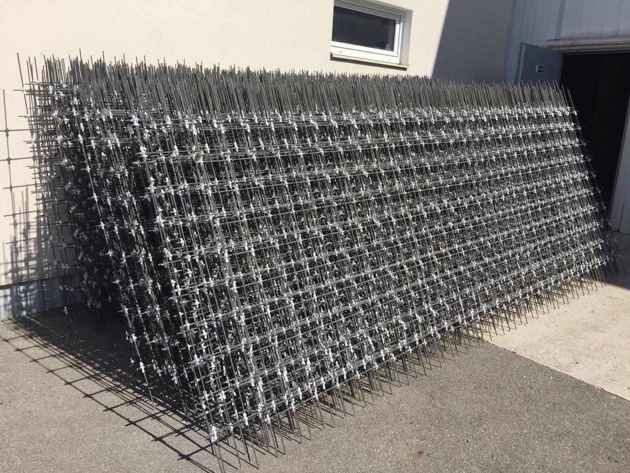 GFRP reinforcing mesh
